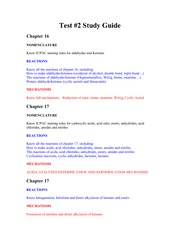 test#2 study guide Fall 2013