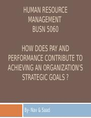 How does pay and performance contribute to achieving.pptx