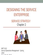 MGT 3121 - Spring 2016 - Chapter 2