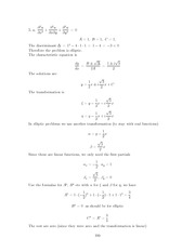 Differential Equations Lecture Work Solutions 199