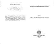 Catholicism and International Relations