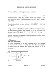 NEW-PRESSURE MEASUREMENT