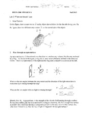 Answers - lab 02 Flux and  Gauss' Law