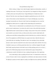 Personal Reflection Paper Part 2.docx
