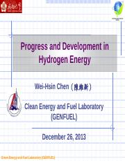 20131226_Progress_and_Development_in_Hydrogen_Energy(1)