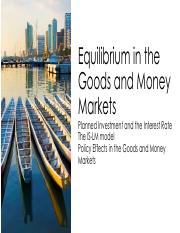 7 ECONTWO - Equilibrium in the Goods and Money  Markets.pdf