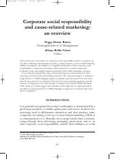 CSR & Caused Related Marketing in J of Ads.pdf