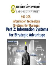 Chapter 7 Part 2Information Systems for Strategic Advantage.ppt