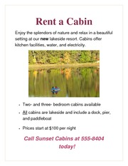 Lab 3 Rent-a-Cabin