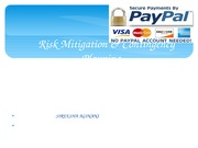 Risk Mitigation & ContingencyPlanning_PayPal!
