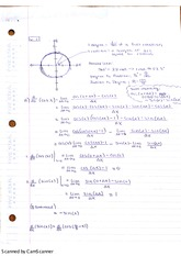 Derivatives and Antiderivatives of Cosine and Sine