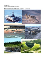 Problem Based Learning Project - Environmental Issues across Canada