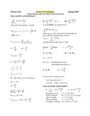 Exam2_2009Spr_Solutions