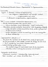 Notes on the Question of Education Science