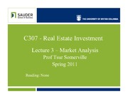 C307s11-Lec3-Market Analysis