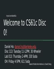 Cs61c Lab 5
