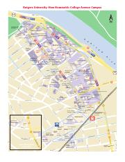 Rutgers Douglass Campus Map.Campus Map Pdf Cant Find It Here Rutgers Is Changing All The Time