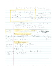 DC Analysis of Transitions Notes