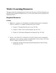 Week 4 Learning Resources (Human Resource Management)(2)