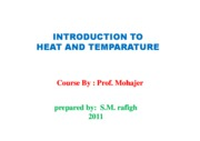 Microsoft PowerPoint - Introduction To Heat and temperature