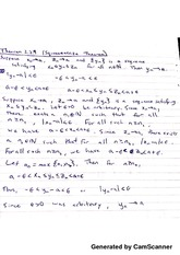 Notes on Theorems 2.5-9 Week 7