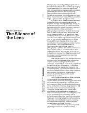 David Claerbout The Silence of the Lens.pdf