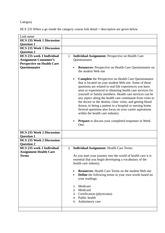 hcs 577 week 5 health care budget