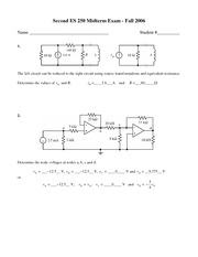 Second Midterm w/ Solutions