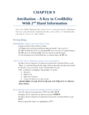 "CHAPTER 9 â€"" Attribution"