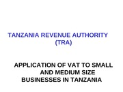 TAX REFORM IN TZ