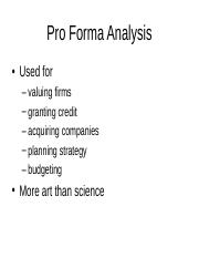 Pro_Forma_Analysis.ppt
