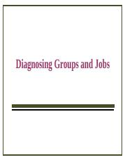 6 - Diagnosing Groups and Jobs.ppt