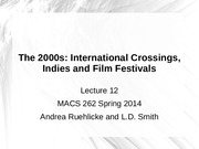 MACS 262 Lecture 12 International Crossings and Digital Technology Ruehlicke