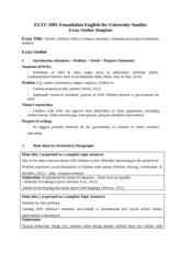 problem solution essay racial discrimination racial  3 pages module 5 sample essay outline 1