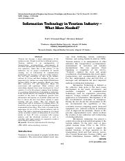 Information_Technology_in_Tourism_Indust