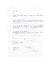 Eng Sci Materials - Thermal Conductivity Lecture Note