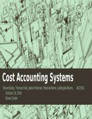 Cost Accounting Systems_team B_wk 4_2