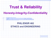 02-15-10 Trust AND Reliability Honesty-Intergrity-Confidentiality