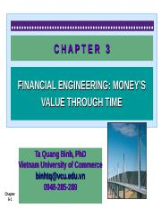 CHAPTER 3- Financial Engineering- The Money's Value through Time - Copy