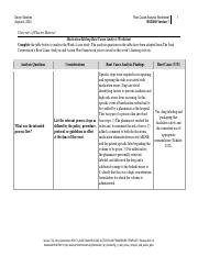 Root cause analysis worksheet wk4 assignment.pdf