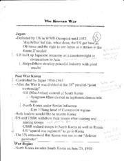 World History Class Notes 5