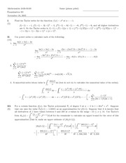 Exam C Solutions on Honors Calculus