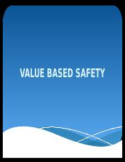 VALUE BASED SAFETY.pptx