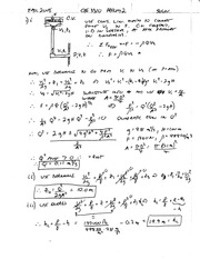 CEE 3310 Prelim 2 Fall 2008 Solution