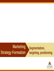 MGT-402 Topic Presentation Segmentation Positioning USP and VP.pptx