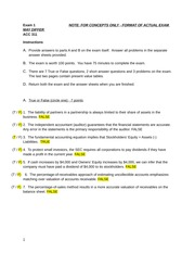 acct winter 2014 final exam 2 Math 201-nyb-05 - final exam (marks) winter 2014 page 2 of 2 (2) let8 x1 n=1 an be the series whose nth partial sum is sn =2+(1)n2n (a) evaluate x1 n=1 an (b) find an for n 2 9 determine whether the following series are convergent or divergent.