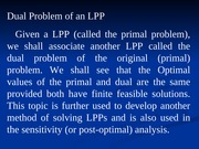 L14_Dual of LPP Defined (Chap 4)