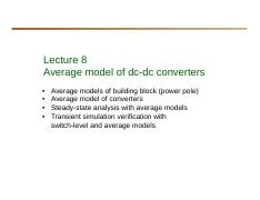 Lecture 8 Average model of dc-dc converters.pdf