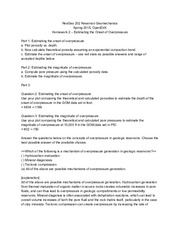 Stanford ResGeo202 Homework 2 Estimating the Onset of Overpressure