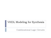 VHDL 2 Combinational